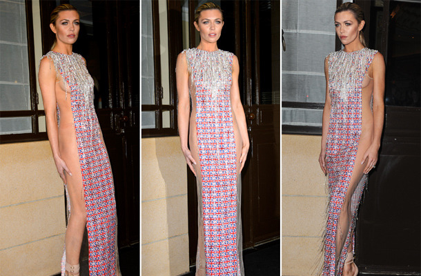 Is This The Most Vulgar Dress You've Ever Seen?