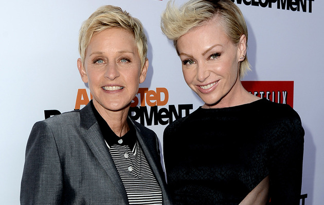 "Portia De Rossi: I Was ""Very"" Nervous to Come Out with Ellen"