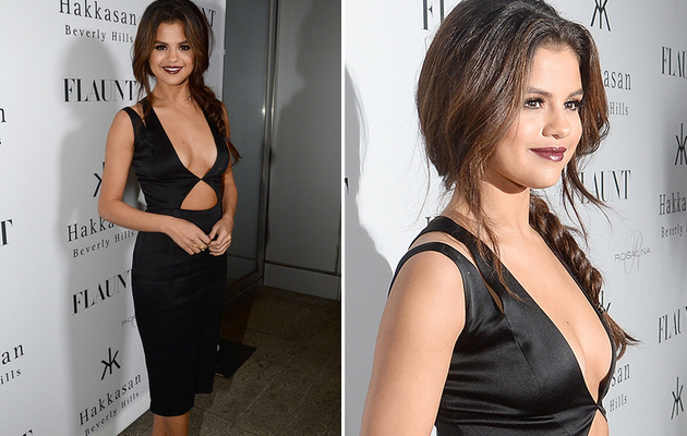 Selena Gomez Vamps It Up At Flaunt Magazine Party!