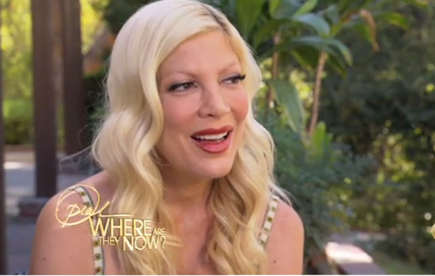 "Tori Spelling: I Was ""Beaten Down"" For Being Aaron Spelling's Daughter"