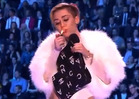 Miley Cyrus -- Lights Up Joint ON-STAGE at MTV EMAs ... Because She Can