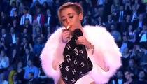 Miley Cyrus' On-Stage Raunchiness -- She Can't Stop