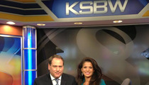 Clint Eastwood's Wife Dina Eastwood Back Anchoring the News!