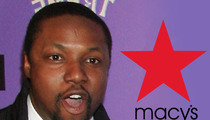 Actor Sues Macy's For Racial Profiling