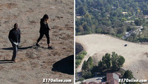 Kim Kardashian and Kanye West -- When Giant Mansions Get Too Damn Small
