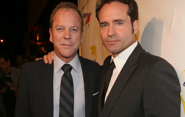 """The Lost Boys"" Stars Kiefer Sutherland & Jason Patric Reunite!"