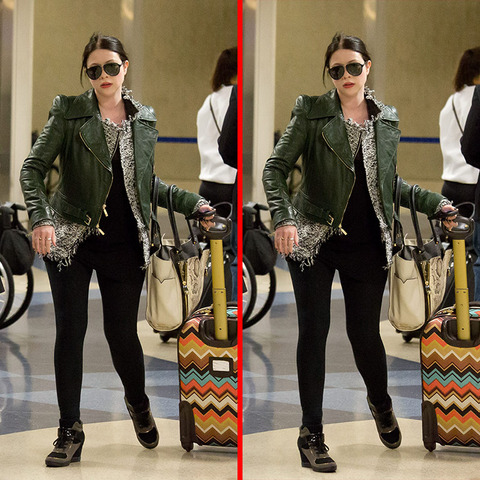 Can you spot the THREE differences in the Michelle Trachtenberg picture?