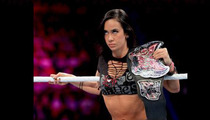 WWE Diva AJ Lee Collapses -- It's An H2O No-No