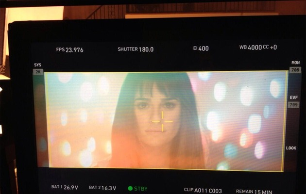 Lea Michele Teases Music Video With Shots From Set