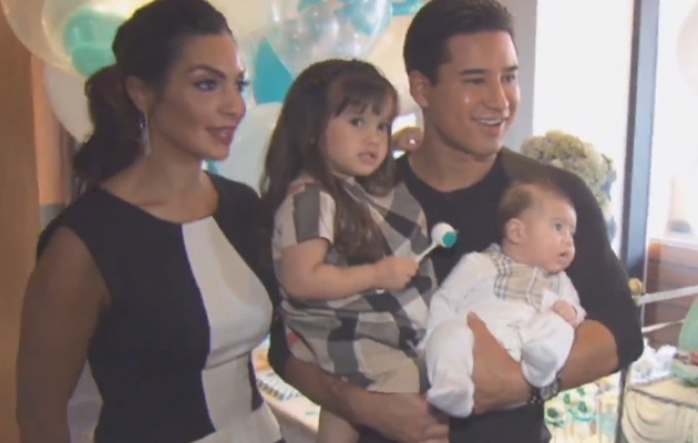 Meet Mario Lopez's Adorable Son Dominic!
