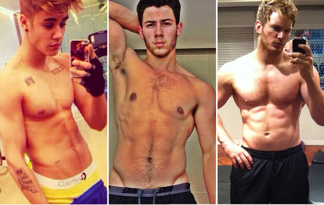 """Selfie"" Named 2013's Word of the Year -- See Sexy Celeb Shots!"