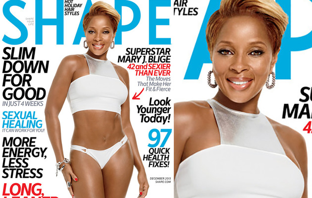 Wow! Mary J. Blige Flaunts Bikini Bod at 42!