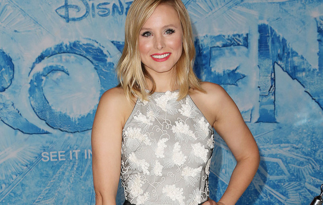 """Kristen Bell on """"Frozen"""": I Finally Have a Movie to Show Baby Lincoln!"""