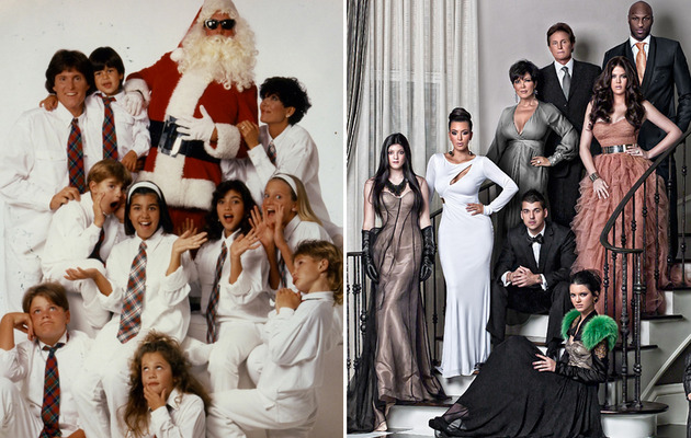 Kanye West & North West Won't Be In Kardashian Holiday Card, But ...