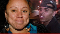 Chris Brown Mama Drama -- His Friends Made Him a Thug