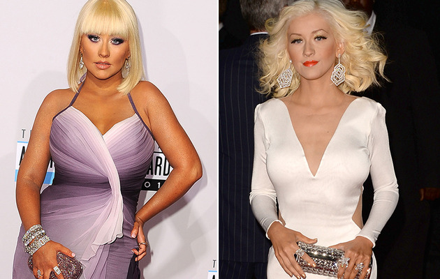 Christina Aguilera Stuns At the American Music Awards!