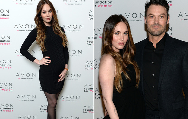 Megan Fox's Baby Bump Makes Red Carpet Debut -- See the Cute Pic!