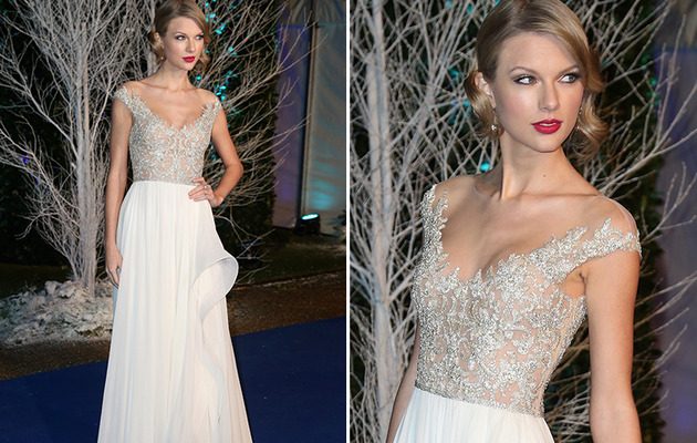 Taylor Swift Stuns at Prince William's Charity Event!