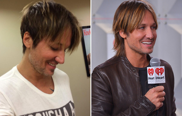 Keith Urban Chops Off His Hair!
