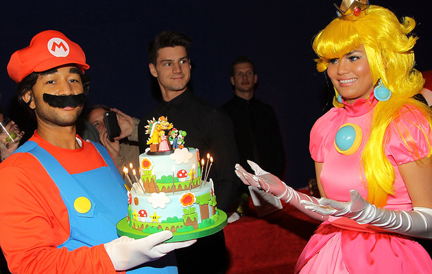 Chrissy Teigen Celebrates 28th Birthday with Mario-Themed Bash!
