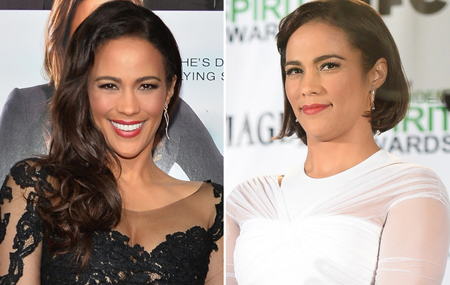 Paula Patton Debuts Short New 'Do!