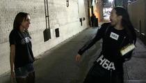 Steve Aoki -- Short Range Cake Tossing ... Right In The Face