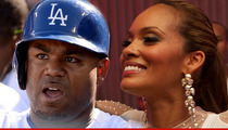 L.A. Dodgers Star Carl Crawford -- Knocks Up 'Basketball' Wife Evelyn Lozada