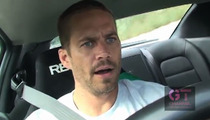 Paul Walker -- I Once Hit 185 MPH... On The Freeway!