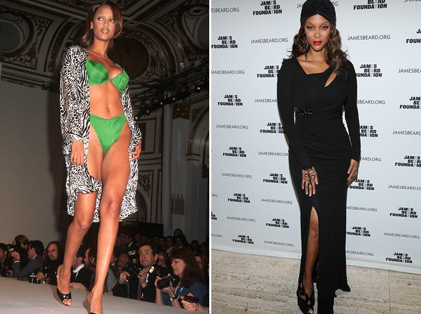 Tyra Banks Turns 40 See More Supermodels Then Now Toofab Com