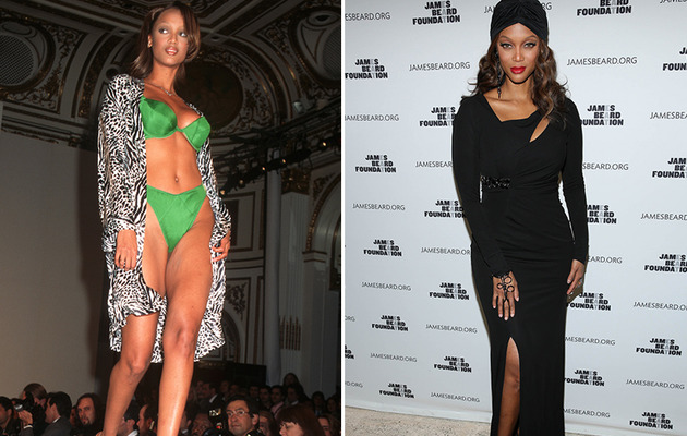 Tyra Banks Turns 40 -- See More Supermodels Then & Now!