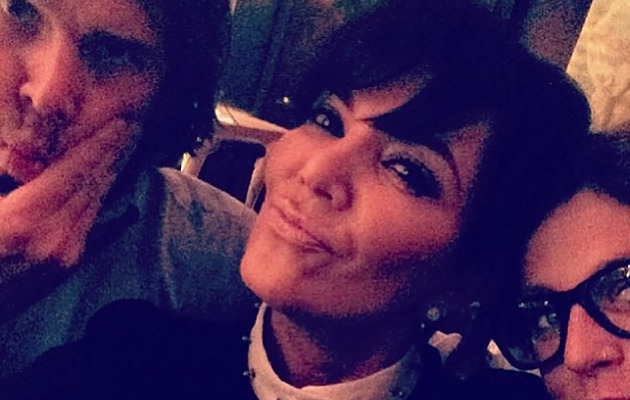 "Kris Jenner Posts ""Date Night"" Photo with Ben Flajnik"
