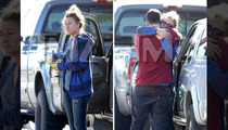 Paul Walker's GF Jasmine Pilchard-Gosnell Breaks Down -- First Photos Since Paul's Death