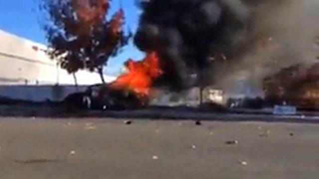 Paul Walker Death Image In Burning Porsche Video Is NOT Paul - Really hot cars