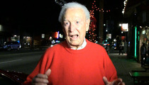 Bob Barker -- I'm Turning 90 ... and I Could STILL Beat Adam Sandler's Ass!!