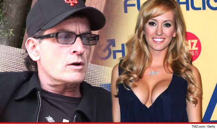 Charlie sheen pornstar girlfriend