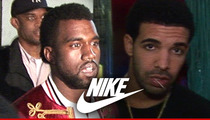 Kanye West -- I DON'T HATE DRAKE ... Even Though I Hate Nike