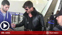 Robin Thicke -- Coolest Display of Coolness Ever, Until ...