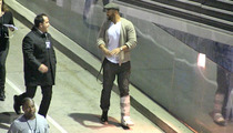 Matt Kemp -- Gimps to the Jay Z Concert ... My Ankle's Healthy Enough for Hip Hop