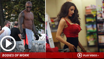 Tyson Beckford & Courtney Stodden -- Don't Be Afraid of the Dark