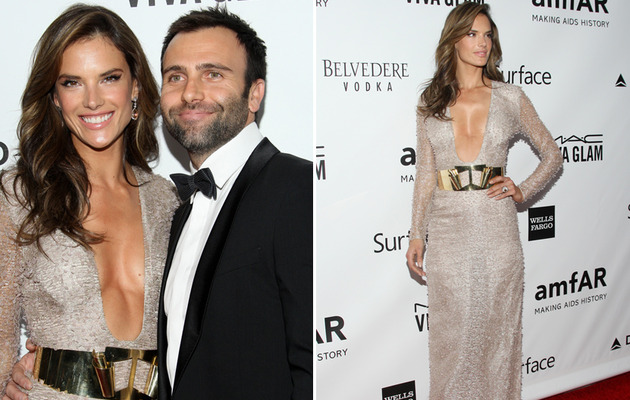 Alessandra Ambrosio Stuns at amfAR Gala, Talks Jealousy!