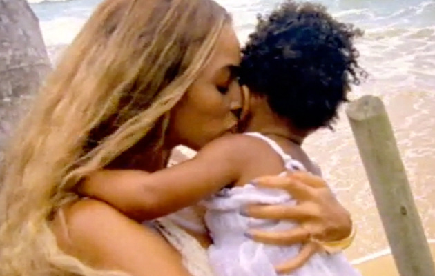 Beyonce Shares Video of Blue Ivy -- And She's Adorable!