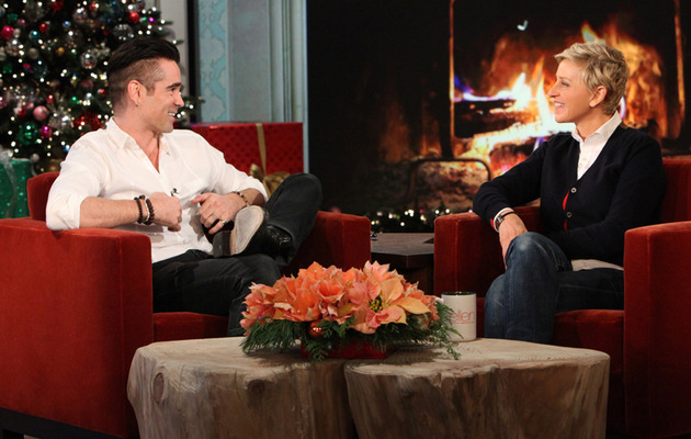 "Colin Farrell Opens Up About ""Romantic"" Relationship with Elizabeth Taylor!"