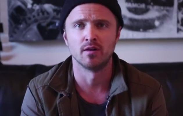 Aaron Paul Helps Man Propose -- See The Sweet Video