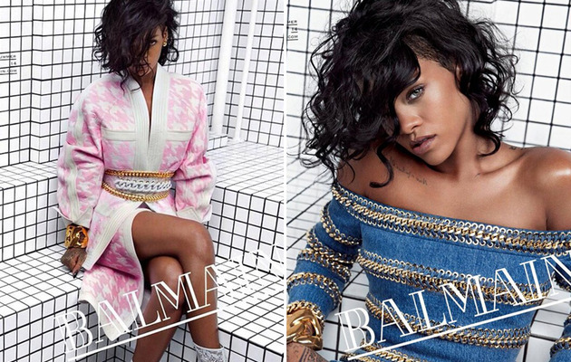 Rihanna Named New Face of Balmain -- See Sexy Campaign Ads!
