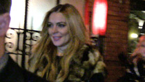 Lindsay Lohan -- Partying Without Injuries Reported