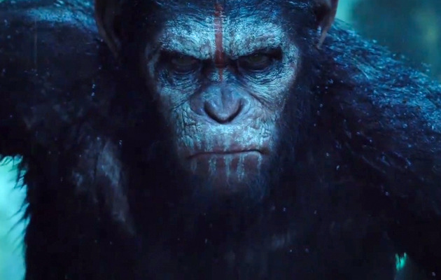 "Caesar Looks ANGRY In New ""Dawn of The Planet of The Apes"" Trailer"