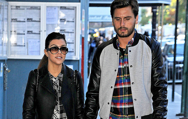 Kourtney Kardashian: Scott Didn't Move Out!