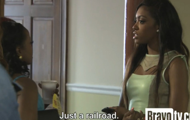 Porsha Stewart on Underground Railroad: Where Does The Train Come Out?