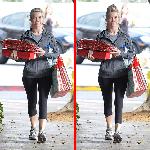 Can you spot the THREE differences in the Julianne Hough picture?