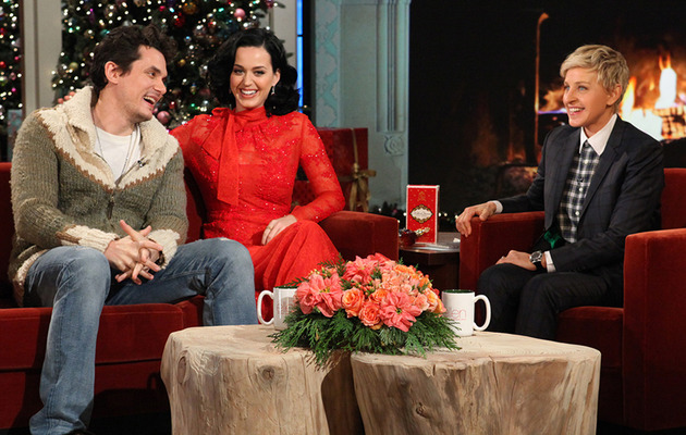 """Katy Perry & John Mayer: Our Music Video is """"More Authentic"""" Than Kimye's!"""